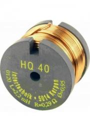 Rollenkernspule HQ40 1.0mH 0.14Ohm
